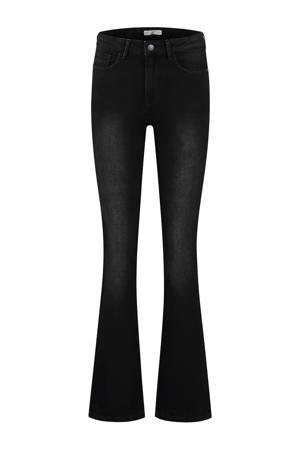 flared jeans Lizzy zwart