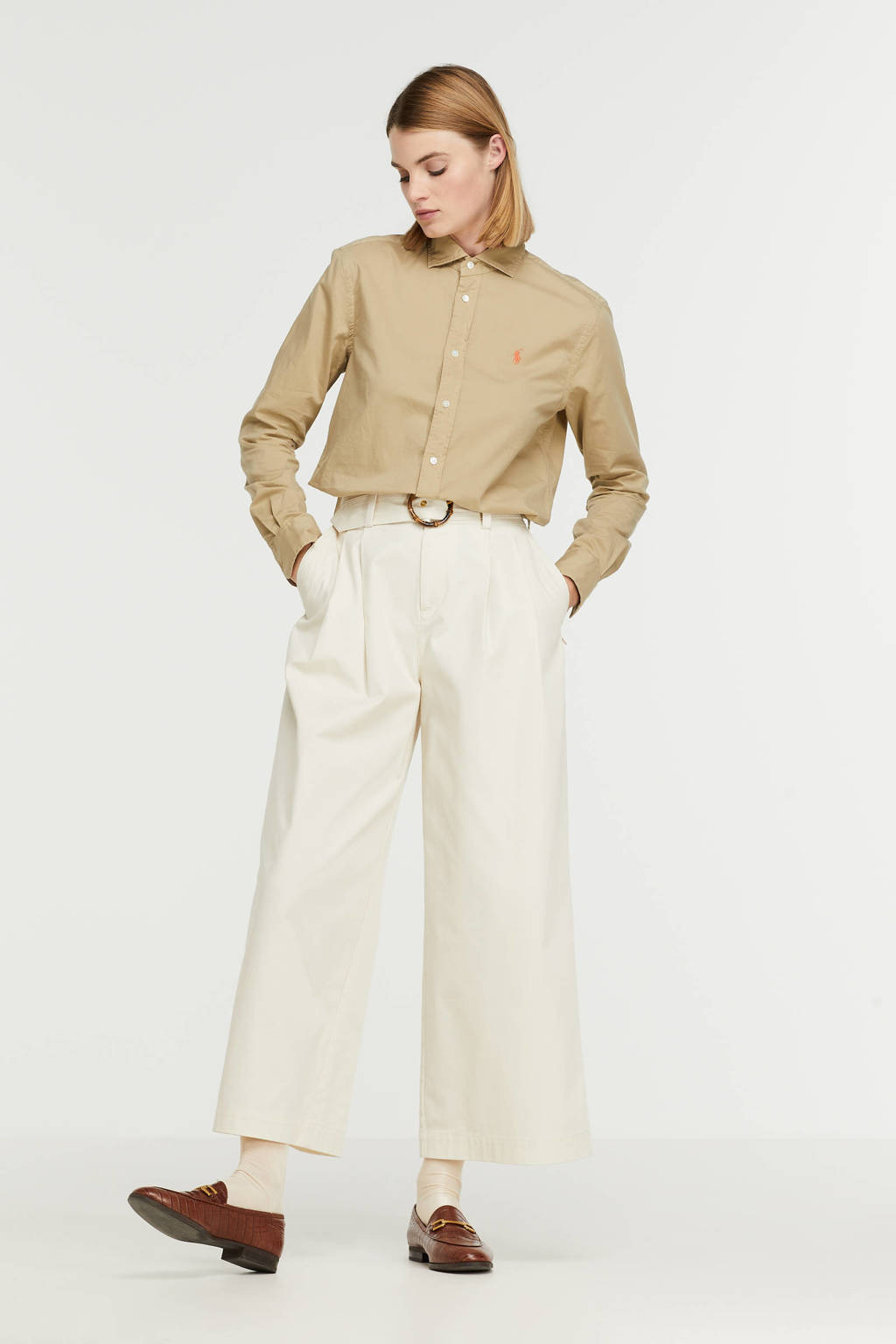 POLO Ralph Lauren blouse beige, Beige