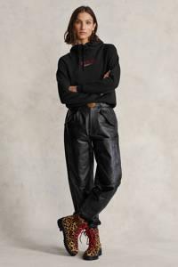 POLO Ralph Lauren hoodie met logo zwart, Zwart