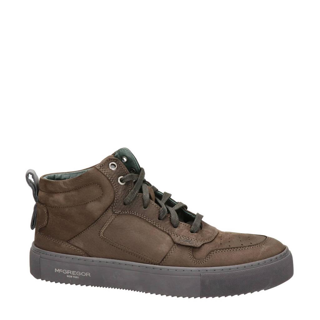 McGregor   leren sneakers bruin, Bruin