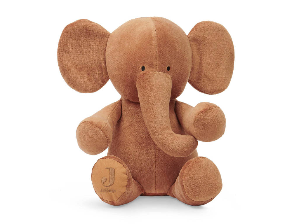 Jollein knuffel Elephant caramel knuffel 36 cm, Caramel