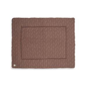 boxkleed 80x100cm Spring knit chestnut