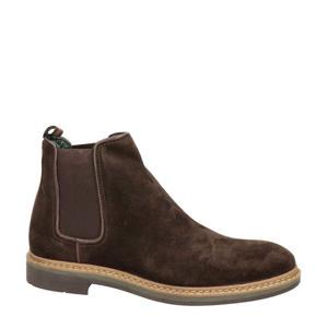 Tiquinho  suède chelsea boots bruin