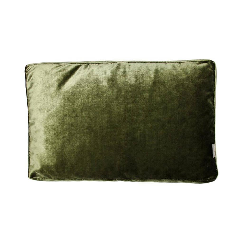 Raaf sierkussenhoes Luze  (50x35 cm), Groen