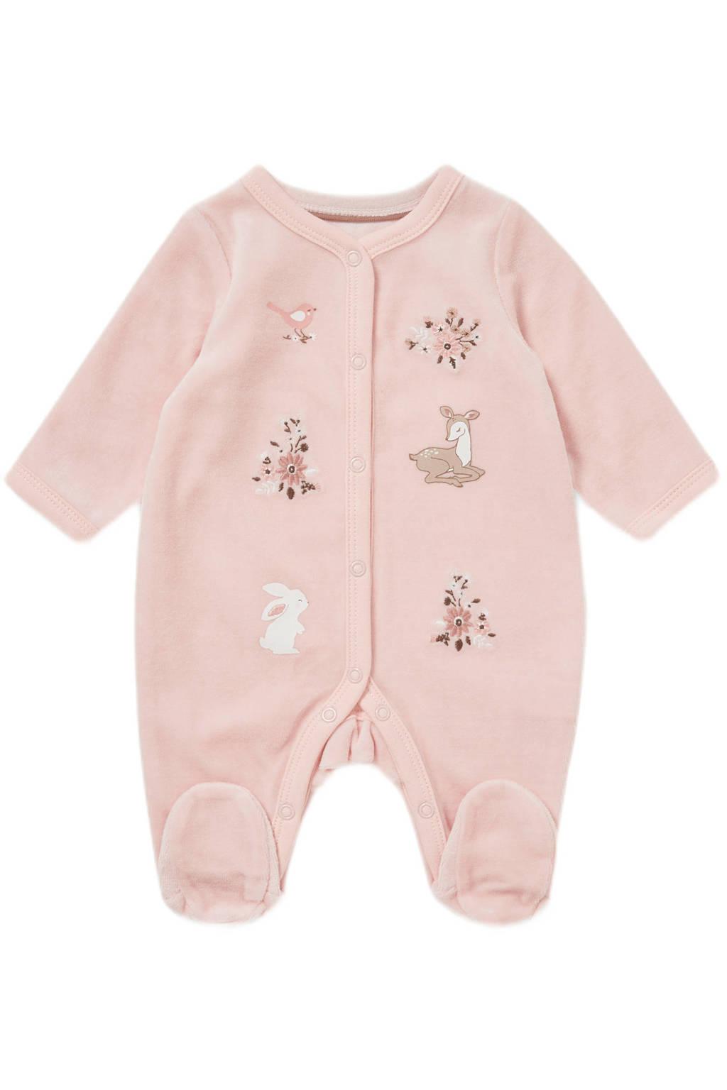 C&A Baby Newborn boxpak met print roze, Roze