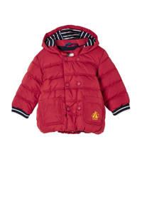 s.Oliver baby gewatteerde winterjas rood, Rood