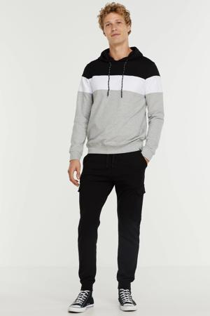 regular fit broek zwart