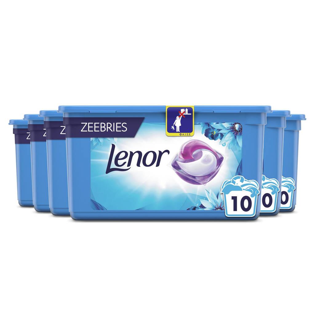 Lenor Allin1 Pods Oceaanbries Wascapsules - 6 x 10 Stuks - 60 wasbeurten