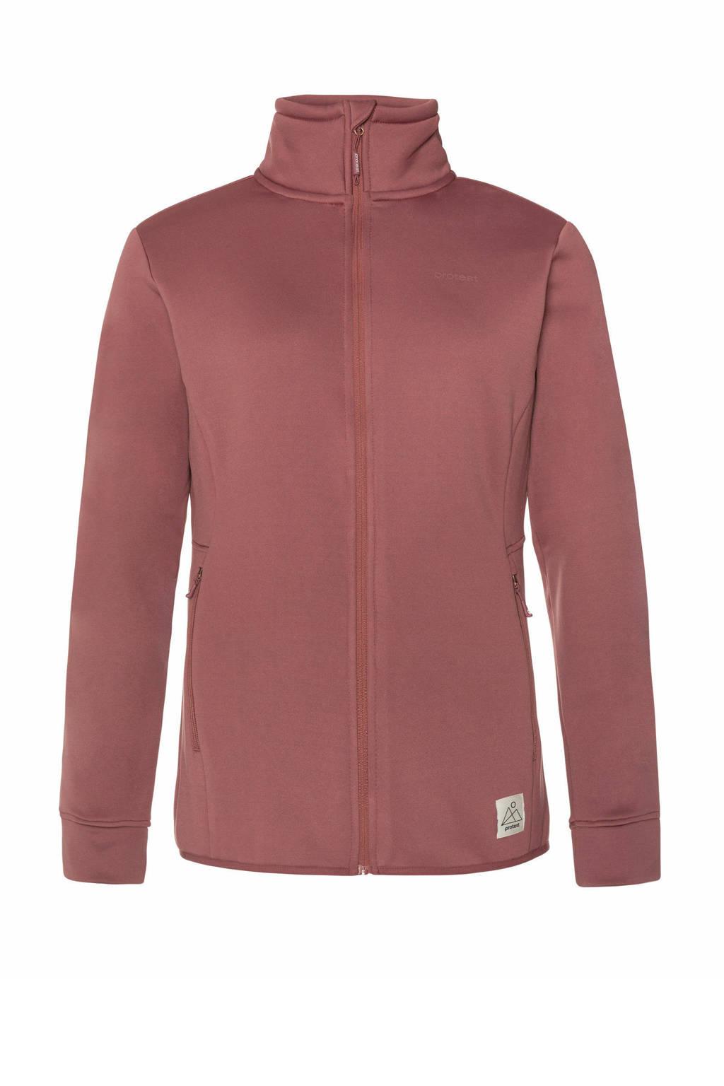 Protest outdoor fleece vest Kumae roze, Roze