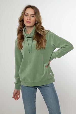trui Wickeds met textuur groen