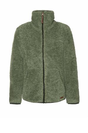 fleece vest Riri Jr groen