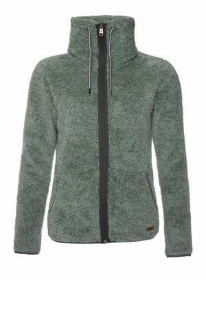 fleece vest Riri groen