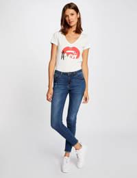 Morgan T-shirt met printopdruk rood, Rood