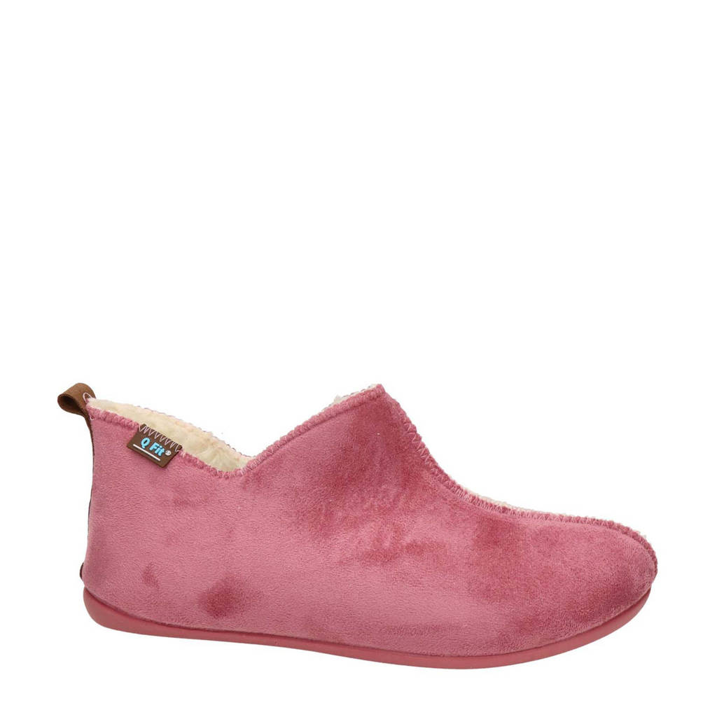 Q Fit Madrid pantoffels roze, Roze