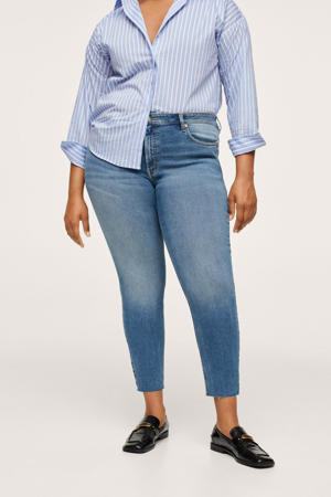 cropped skinny jeans light denim