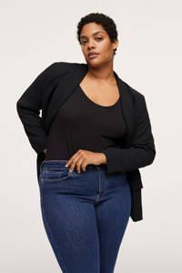 Mango Plus Size flared jeans dark denim, Dark denim