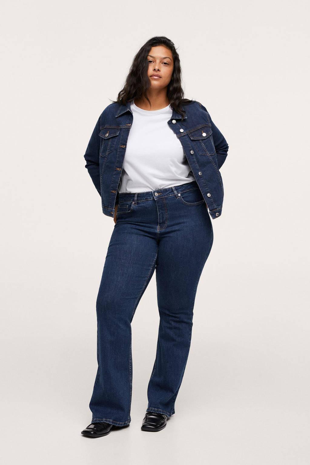 Mango Plus Size jack donkerblauw, Donkerblauw