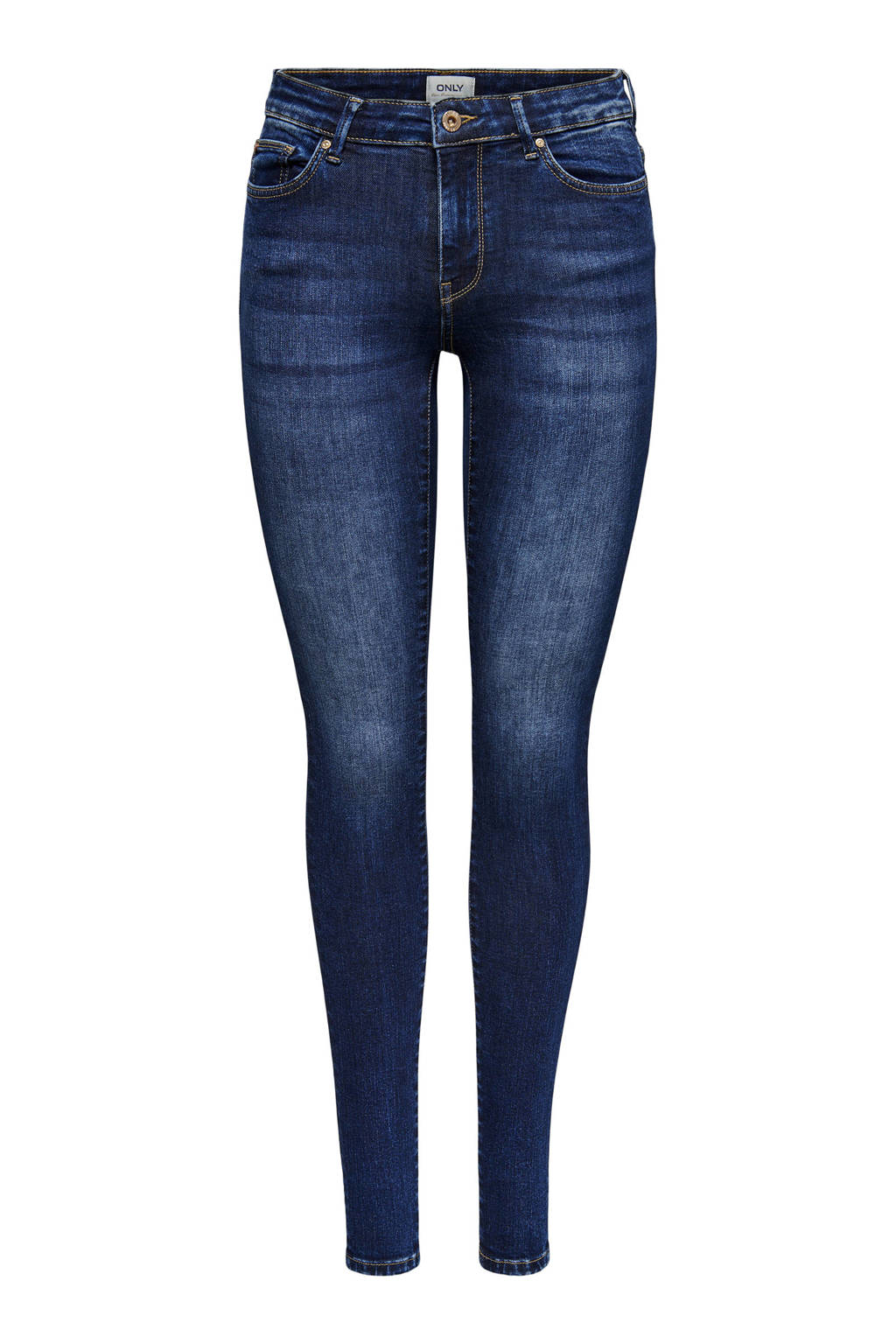 ONLY skinny jeans ONLCARMEN dark blue denim, Dark blue denim