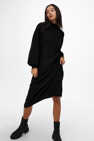 gebreide jurk ONLLUCCA zwart