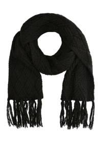 Sacha sjaal zwart, Zwart