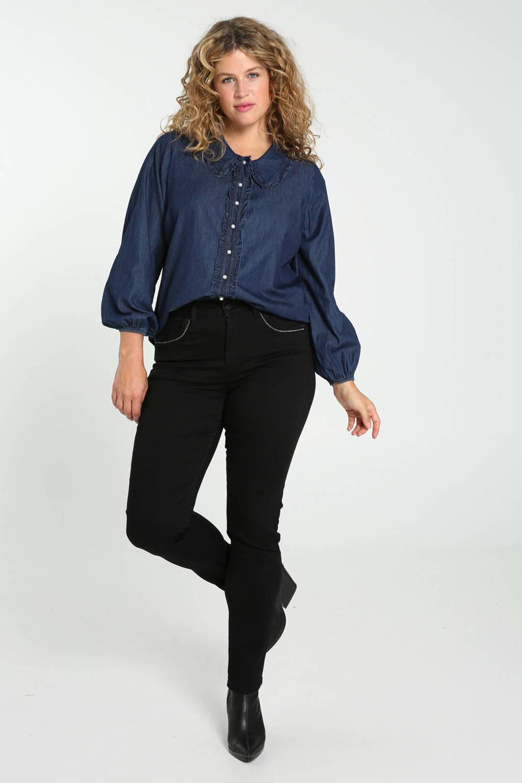 Paprika blouse blauw, Blauw