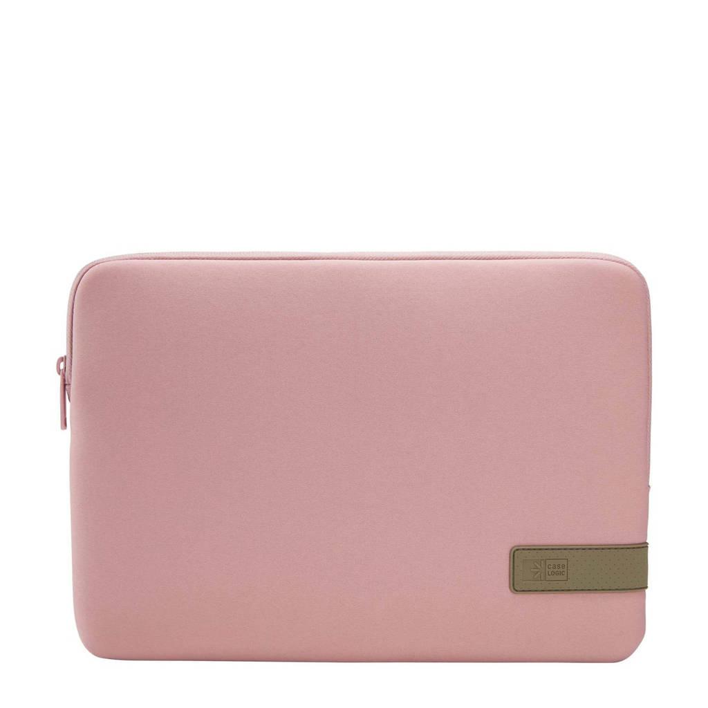 Case Logic Reflect 13.3 inch laptop sleeve (roze), Roze