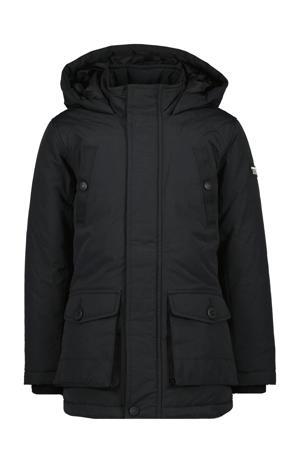 gewatteerde winterjas Tonati zwart