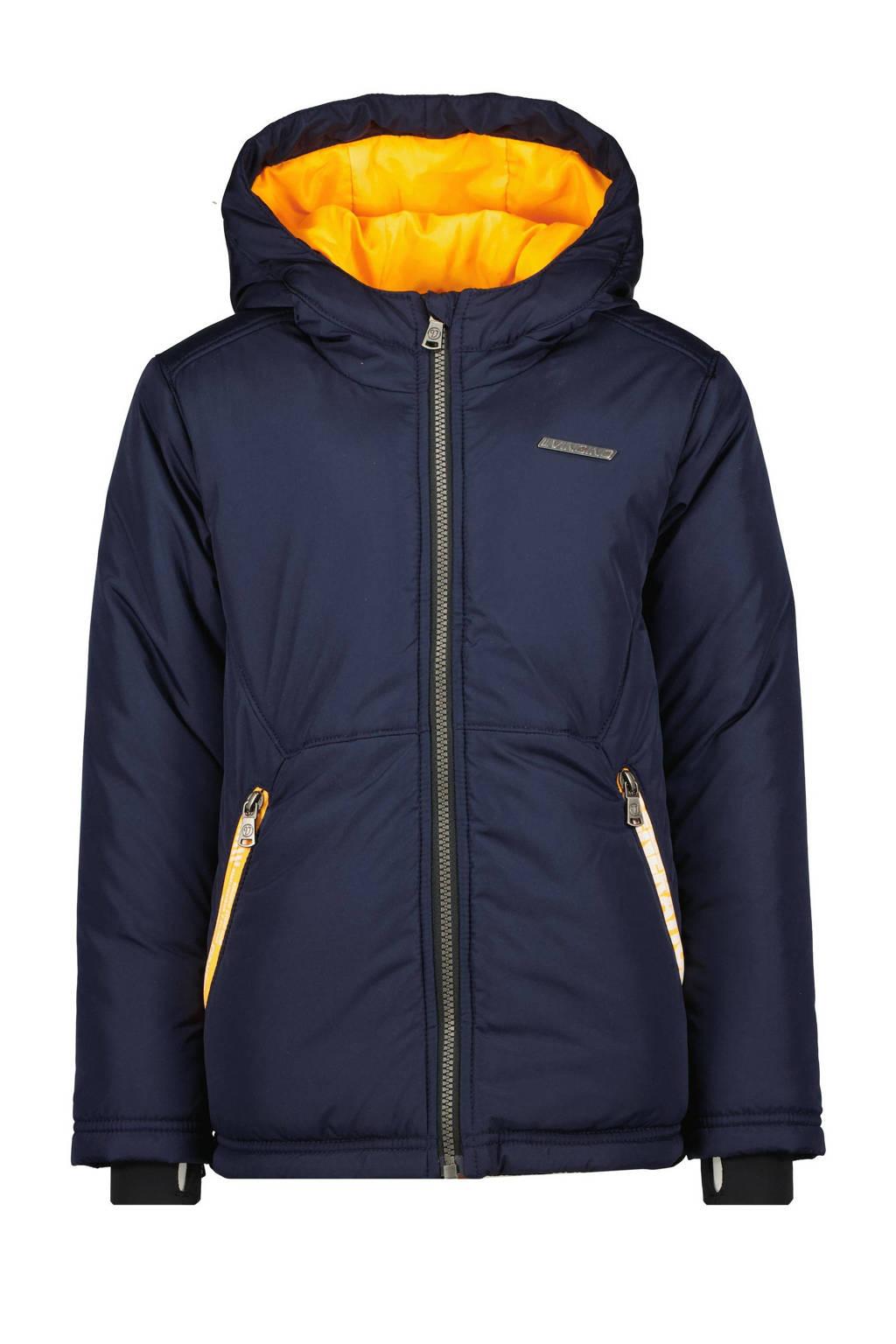 Vingino gewatteerde winterjas Tivaro donkerblauw, Donkerblauw
