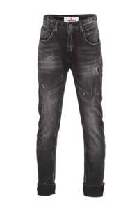 Vingino loose fit jeans Clint black, Black
