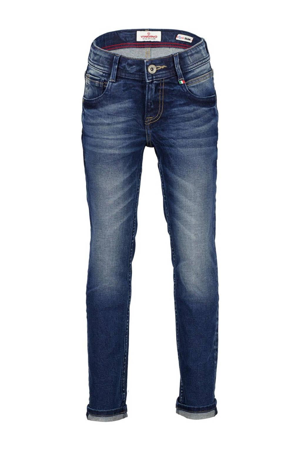 Vingino slim fit jeans Danny dark vintage, Dark vintage