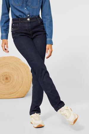 high waist slim fit jeans rinsed wash