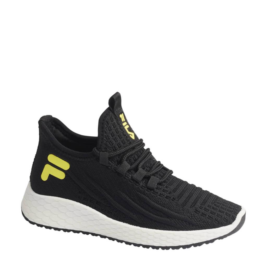 Fila   sneakers zwart, Zwart/geel