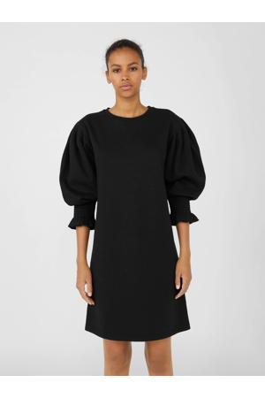 jurk OBJILONA met biologisch katoen zwart
