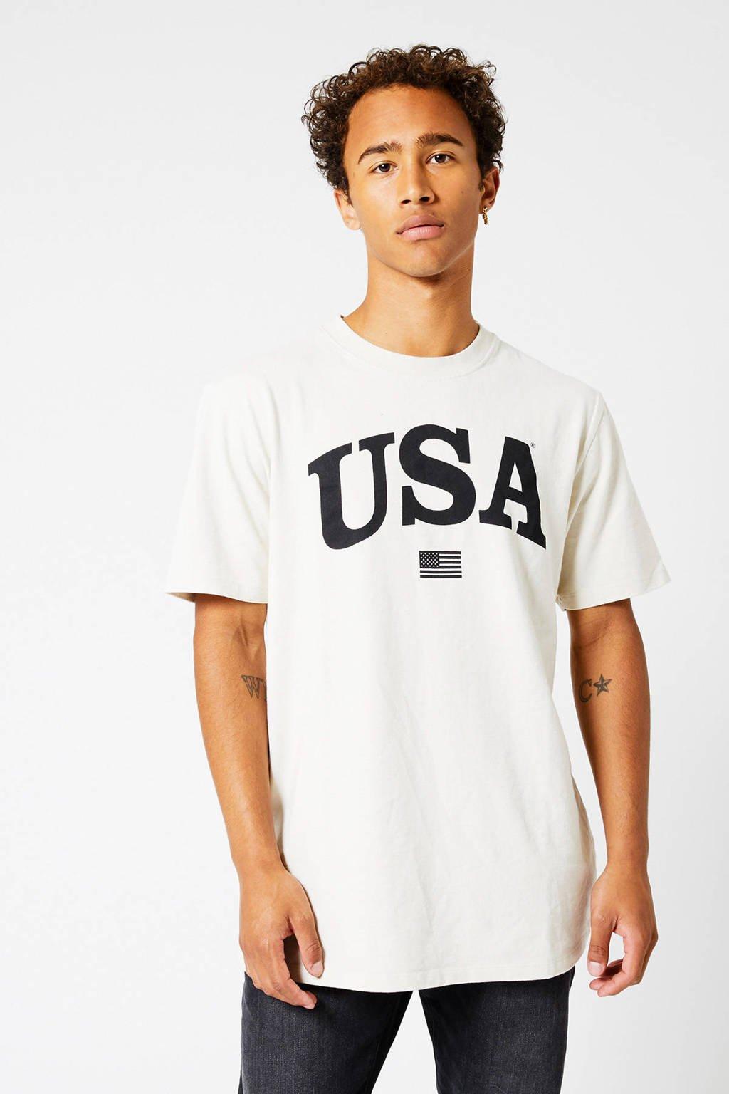 America Today T-shirt Erra van biologisch katoen kit, Kit