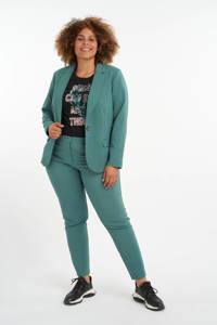 MS Mode slim fit pantalon mintgroen, Mintgroen