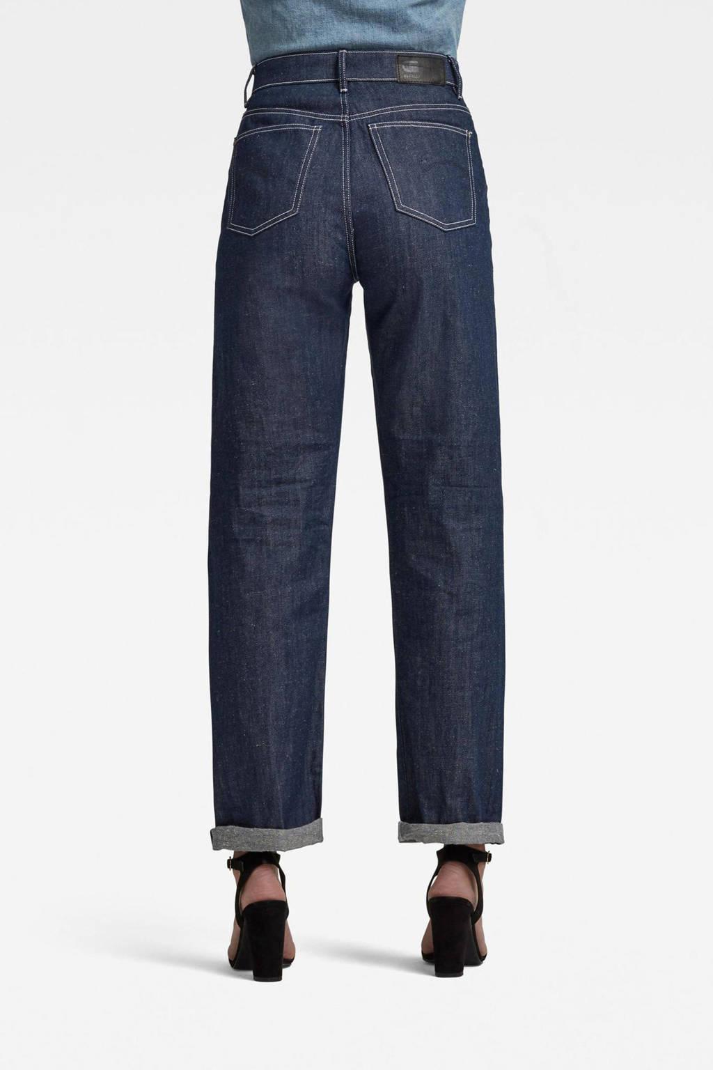 G-Star RAW Tedie ultra high long straight high waist straight fit jeans melsort denim c665, Melsort denim C665