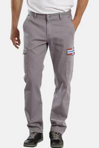Jan Vanderstorm loose fit broek LAIRGNEN Plus Size grijs, Grijs