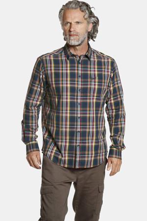 geruit oversized overhemd DITE Plus Size multi