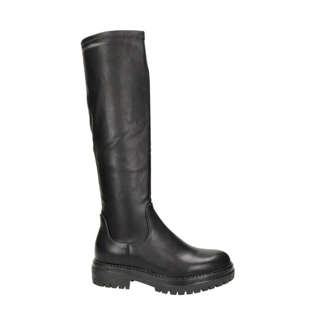 Dolcis   hoge laarzen zwart, Zwart