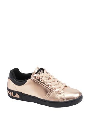 sneakers roségoud/zwart