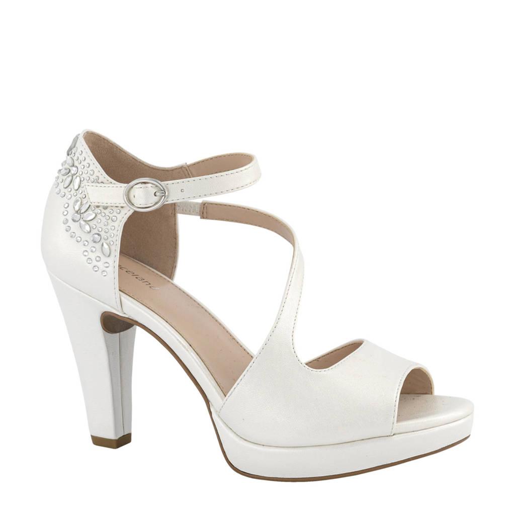 Graceland   pumps met sierstenen wit, Wit
