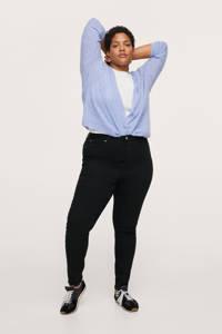 Mango Plus Size high waist skinny jeans antraciet, Antraciet