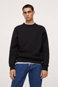 Mango Man sweater zwart, Zwart