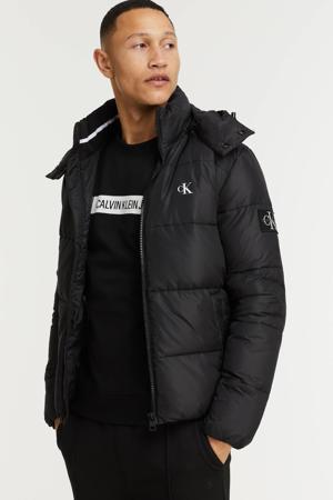jas van gerecycled polyester black
