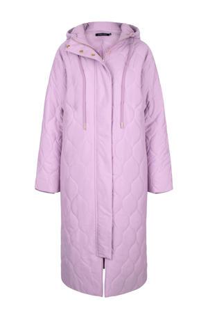 gewatteerde jas Coat Sage lilac