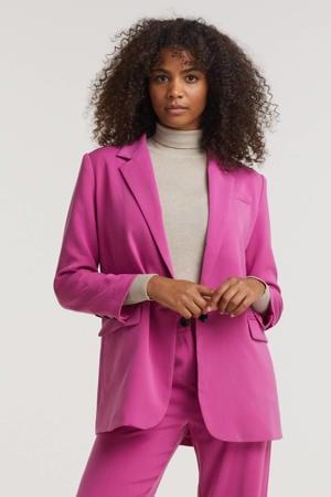 oversized blazer Maisie purple