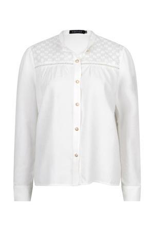 blouse Blouse Philine met borduursels white