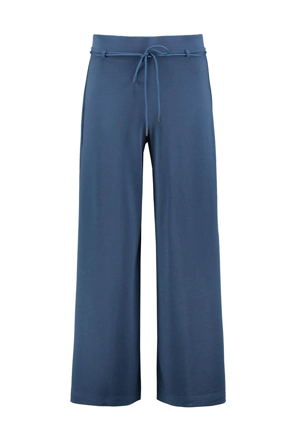 Expresso wide leg palazzo broek donkerblauw, Donkerblauw