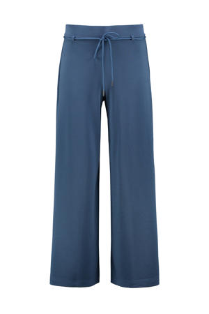 wide leg palazzo broek donkerblauw