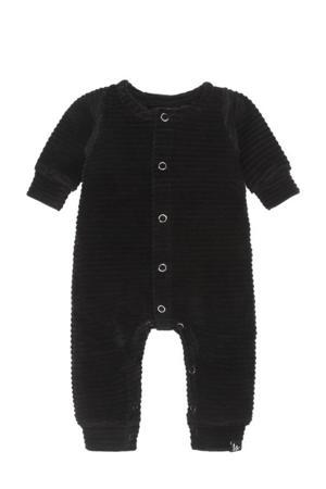 newborn baby corduroy boxpak zwart